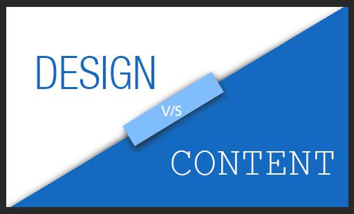 Design vs Content