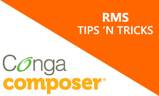 A 'How to' series on Conga Composer