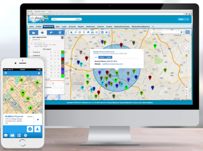 Geo-mapping – and your Salesforce objects.  Putting maps to work