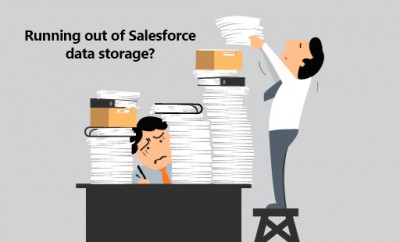 Data storage space and Salesforce