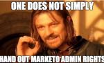 Marketo Admin