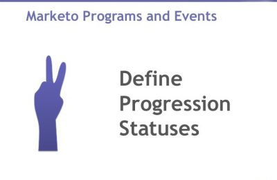 Marketo tip: 'Event program' progression statuses