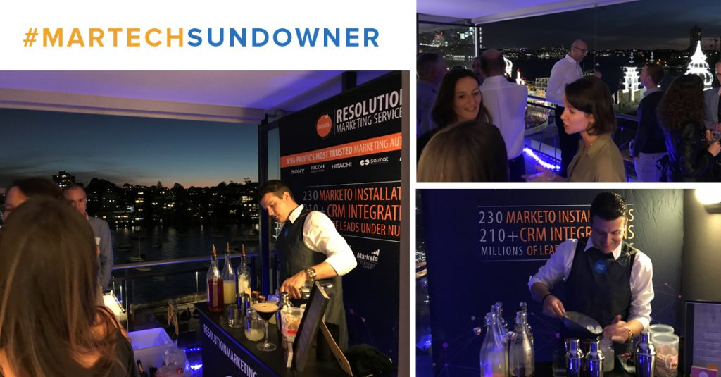 MarTech Sundowner – May 2018