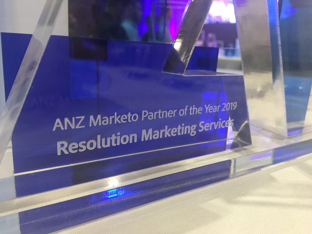 RMS scoops ANZ Marketo Partner of the Year Award